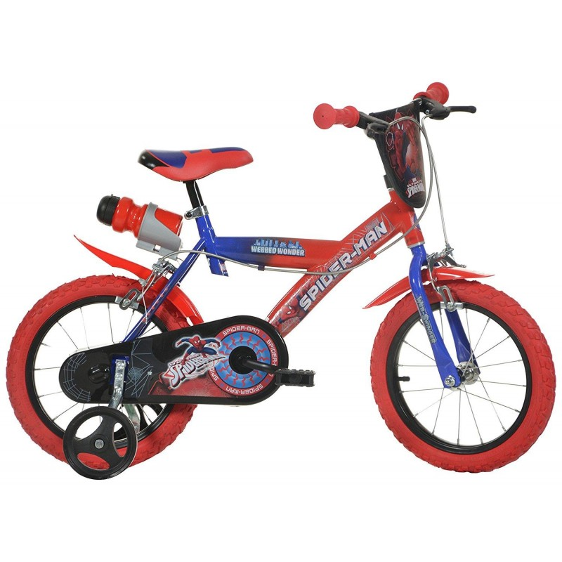 Bicicleta copii 14 '' Spiderman Dino Bikes
