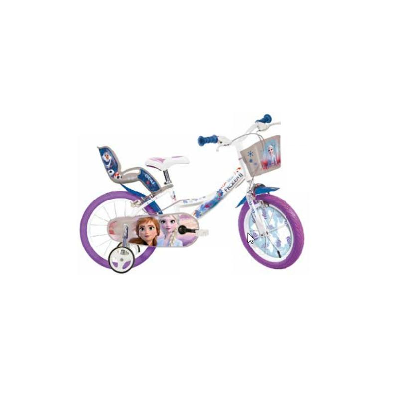 Bicicleta copii 14'' - FROZEN Dino Bikes