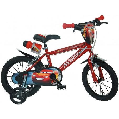 Bicicleta copii 14'' CARS Dino Bikes