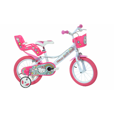 Bicicleta copii 14'' Hello Kitty Dino Bikes
