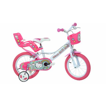 Bicicleta copii 14'' Hello Kitty Dino Bikes