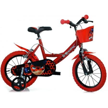 Bicicleta copii 14'' MIRACULOS-BUBURUZA Dino Bikes