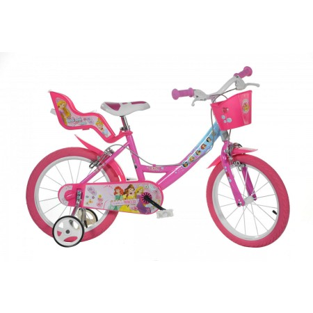 Bicicleta copii 14'' Princess Dino Bikes