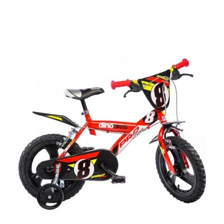 Bicicleta copii 14''- GLN Dino Bikes