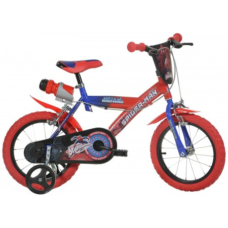 Bicicleta copii 16'' SPIDERMAN Dino Bikes