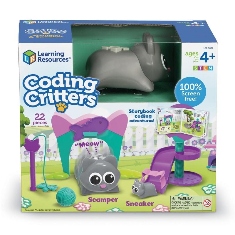 Joc codare - Pisicutele jucause Learning Resources