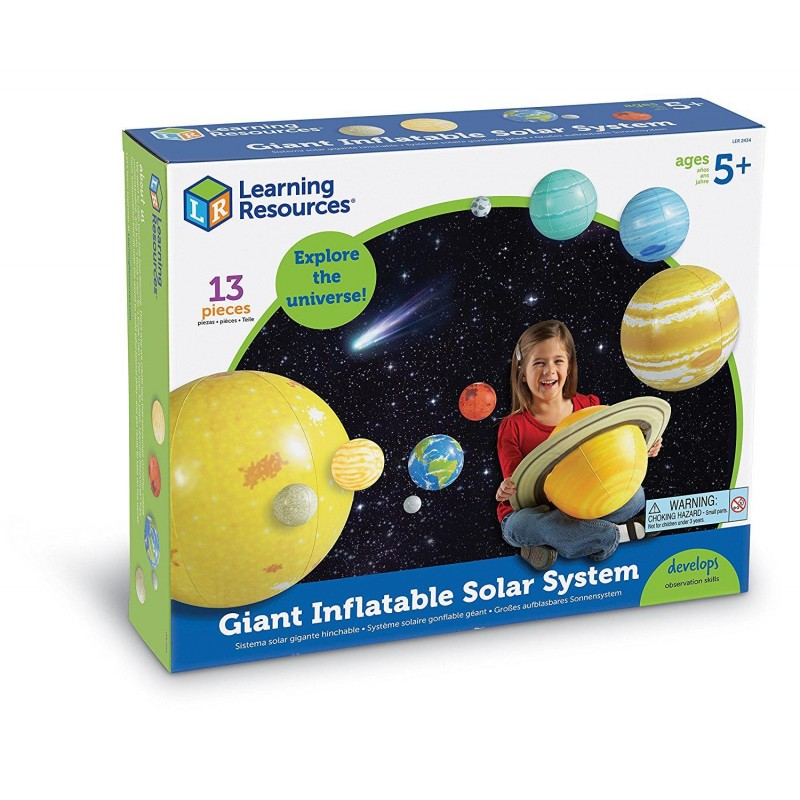 Sistemul solar gonflabil Learning Resources