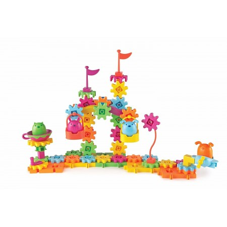 Set de constructie - Gears! Animalute jucause Learning Resources