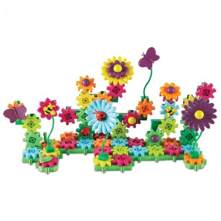 Set de constructie - Gears! Floral Learning Resources