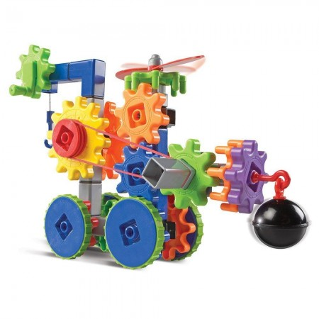 Set de constructie Gears! - Utilaje in miscare Learning Resources