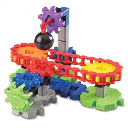 Set de constructie Gears! - Utilaje in miscare Learning Resources