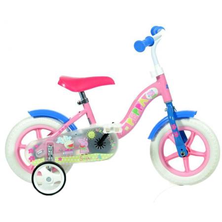 Bicicleta copii 10'' - Purcelusa Peppa Dino Bikes