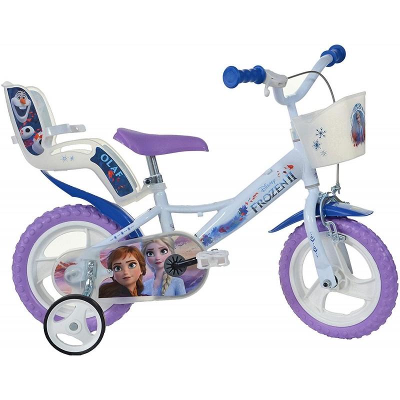 Bicicleta copii 12'' - FROZEN Dino Bikes