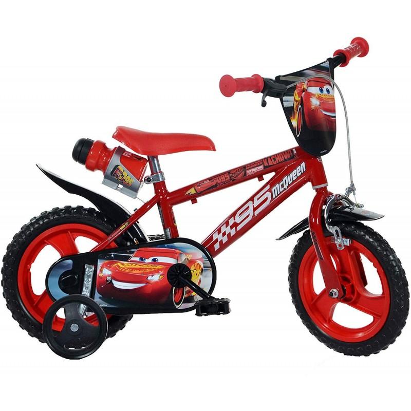 Bicicleta copii 12'' CARS Dino Bikes