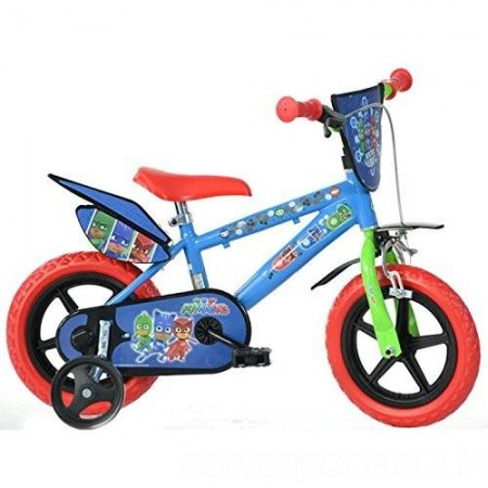 Bicicleta copii 12'' EROII IN PIJAMA Dino Bikes