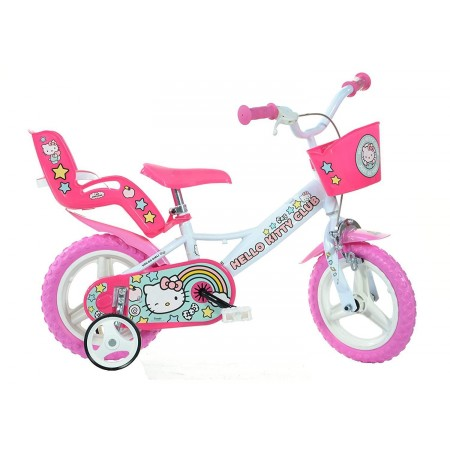 Bicicleta copii 12'' Hello Kitty Dino Bikes