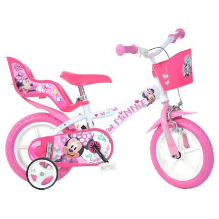 Bicicleta copii 12'' MINNIE Dino Bikes