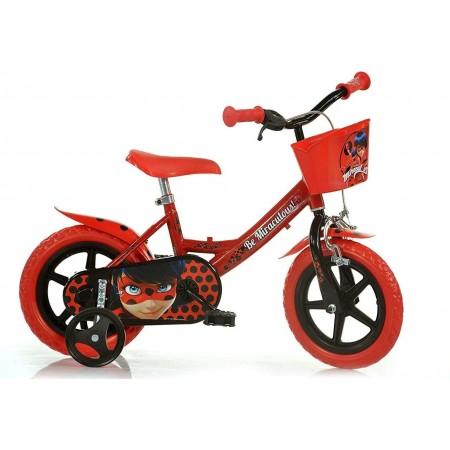 Bicicleta copii 12'' MIRACULOS-BUBURUZA Dino Bikes