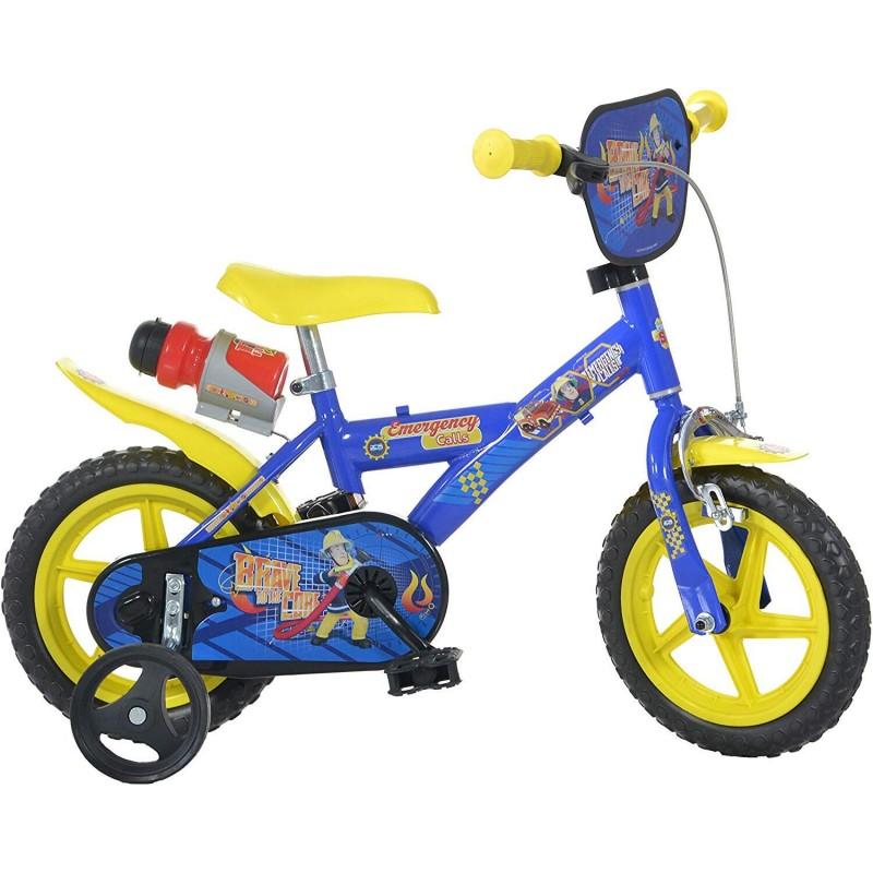 Bicicleta copii 12'' Pompierul Sam Dino Bikes