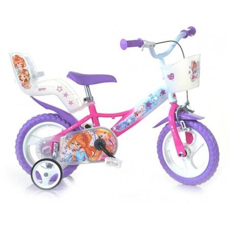 Bicicleta copii 12'' Winx Dino Bikes