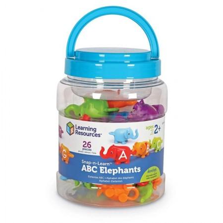 Elefantei cu litere Learning Resources