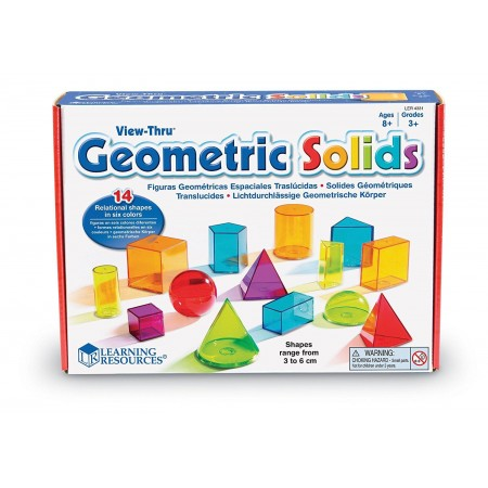 Forme geometrice colorate Learning Resources
