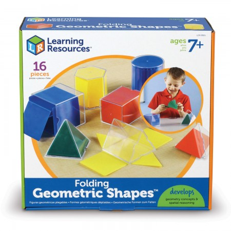 Forme geometrice pliante - 16 piese Learning Resources