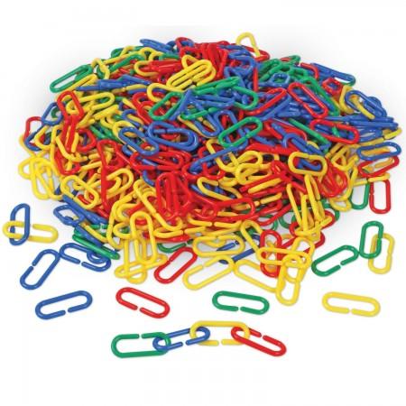 Linknlearn - verigi 4 culori set 500 Learning Resources