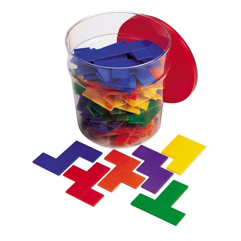 Set forme geometrice - Pentomino Learning Resources