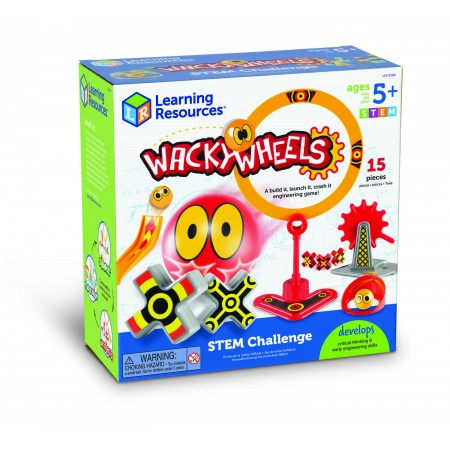 Set STEM - Wacky Wheels Learning Resources