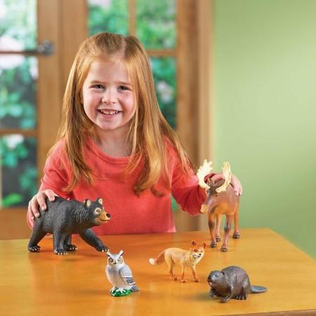 Joc de rol - Animalute din padure Learning Resources