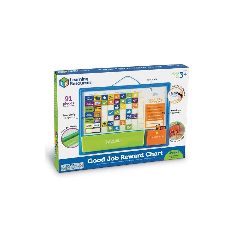 Set magnetic - Panoul recompenselor Learning Resources