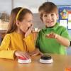 Sonerii pentru raspuns - animale - set 4 buc Learning Resources