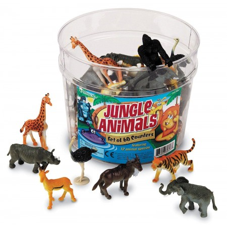 Set pentru sortat - Animalute din jungla Learning Resources