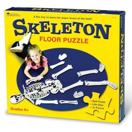 Puzzle de podea - Schelet Learning Resources