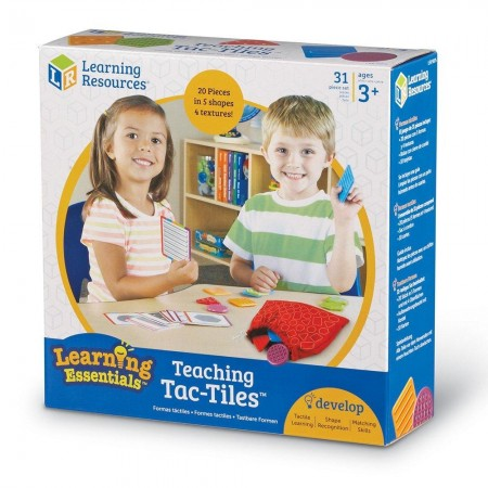 Set tactil - Texturi si forme Learning Resources