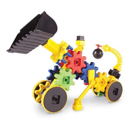 Set de constructie - Gears! Primul meu buldozer Learning Resources