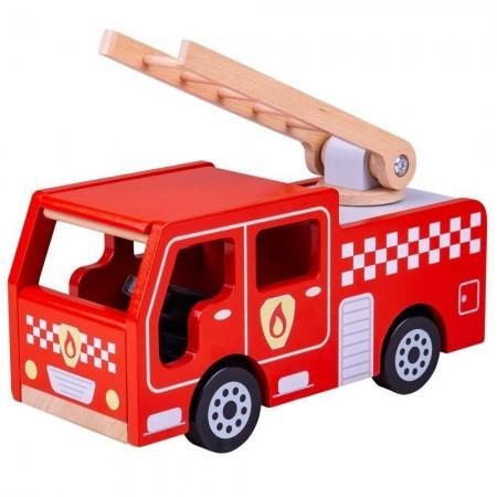 Joc de rol - Masinuta de pompieri Bigjigs