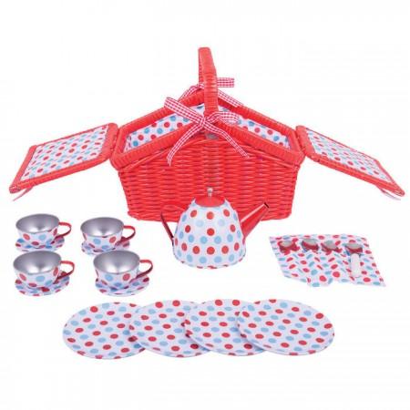Setul meu de picnic cu buline Bigjigs