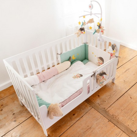 Lenjerie de pat copii - Bruno (80 x 80) Fehn