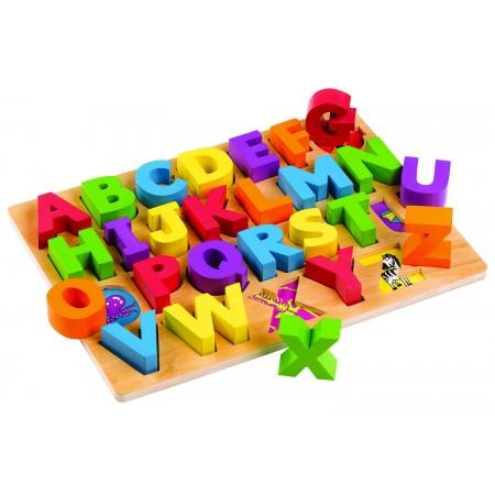 Puzzle alfabet - Litere mari Tidlo