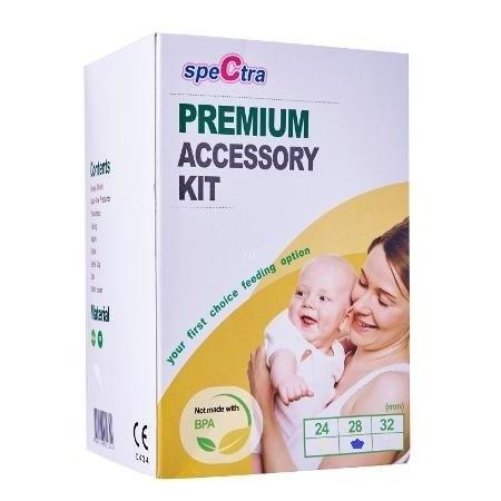 Kit premium 28 mm (biberon+accesorii) Spectra