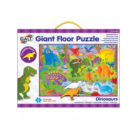 Giant Floor Puzzle: Dinozauri (30 piese) Galt