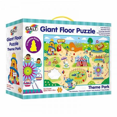 Giant Floor Puzzle: Parcul de distractii (30 piese) Galt