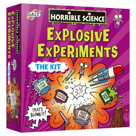 Horrible Science: Kit experimente explozive Galt