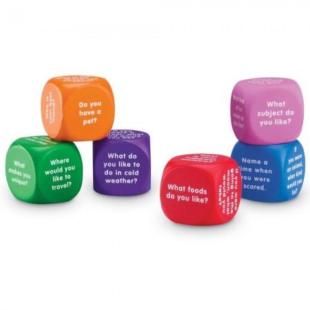 Cuburi pentru conversatii Learning Resources