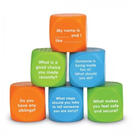 Cuburi pentru conversatii - Descoperim emotiile Learning Resources