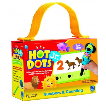 "Carduri Junior HOT DOTS ""Numerele"" Educational Insights"