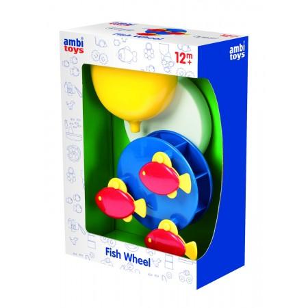 Jucarie pentru baie - Cursa pestisorilor Ambi Toys