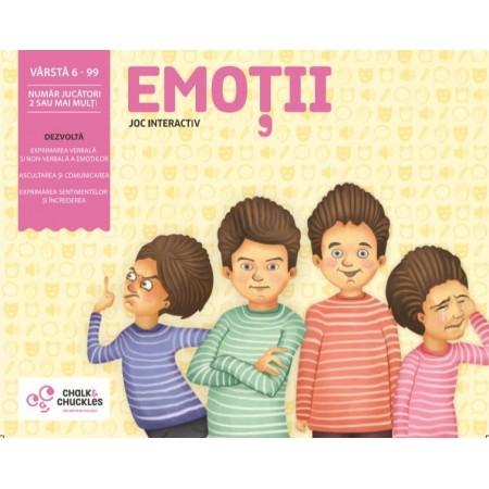 Joc interactiv - Emotii Chalk And Chuckles
